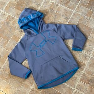 Under Armour athletic hoodie size kids girls 6X